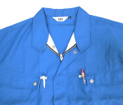 両胸ポケット(ペン差付き)
